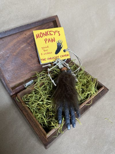 Monkey Paw in box