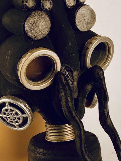 Bug - gas mask, closeup