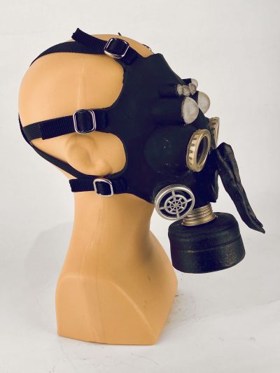 Bug - gas mask, side view