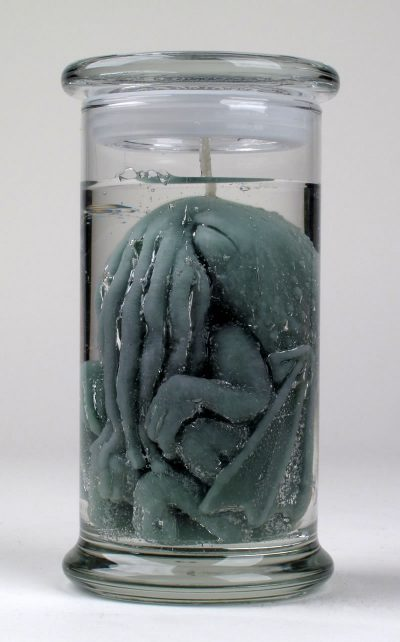Pickled Cthulhu Candle