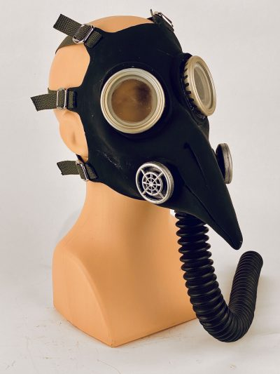 Plague Doctor - gas mask, sideview