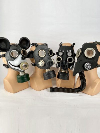 Gas Masks (for Costumes and Collecting)