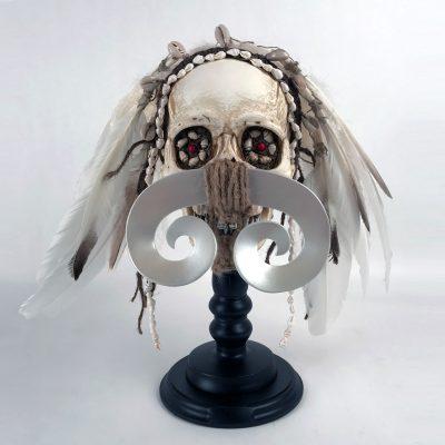 Asmat - Decorated Skull