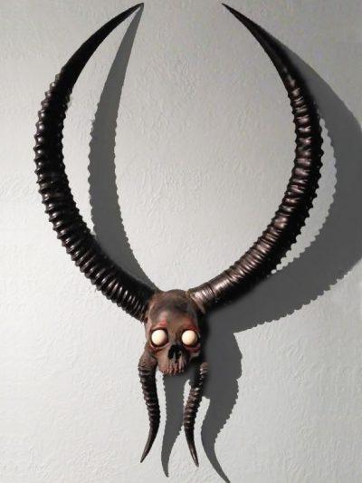 Devil Man Headress