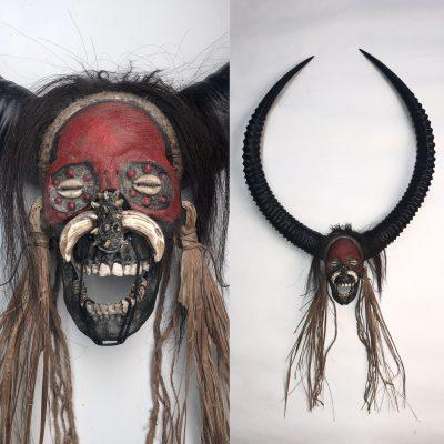 Devil Man - Decorated Skull
