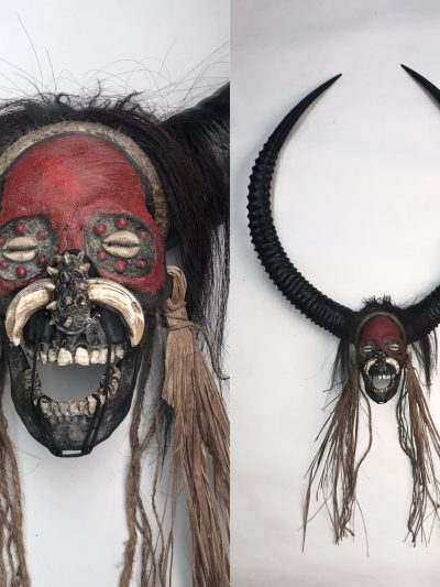 Devil Man - Decorated Skull