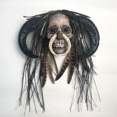 Hell Boy, Tribal - Decorated Skull