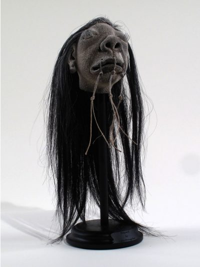 Shrunken Head Model (Fallen Warrior)